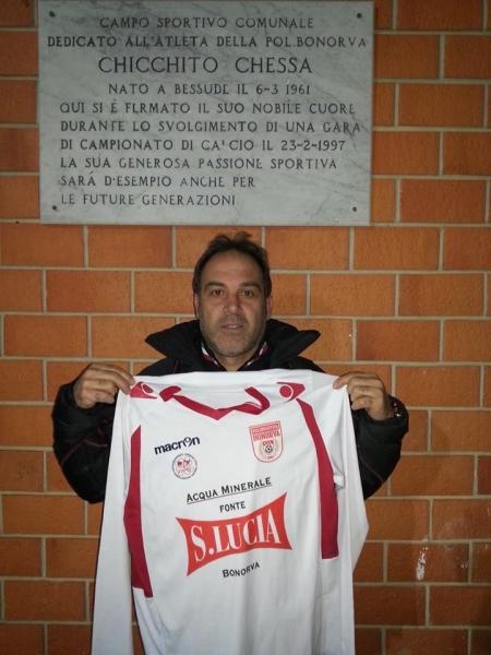 Dino Palmas, il nuovo allenatore del Bonorva