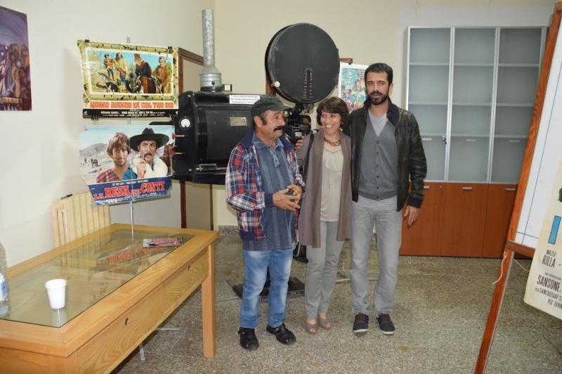 Ica Contini con Benito Urgu e Jacopo Cullin
