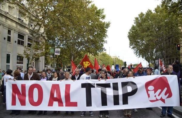 Izquierda unida (Spagna) contro il TTIP